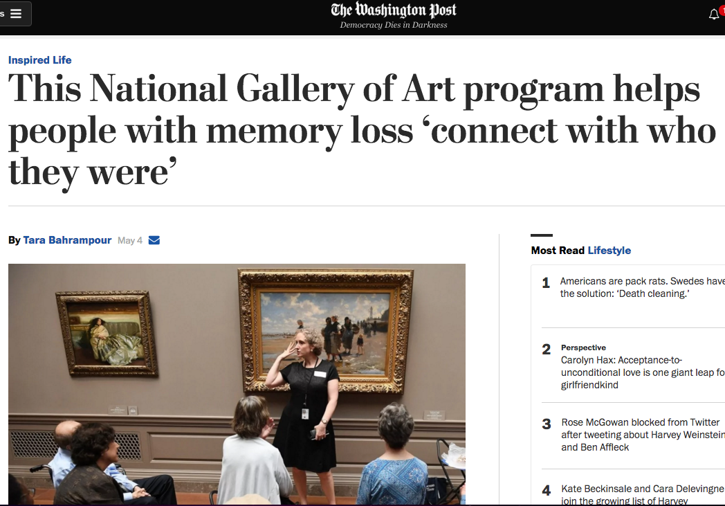 Arts & Minds and The National Gallery of Art