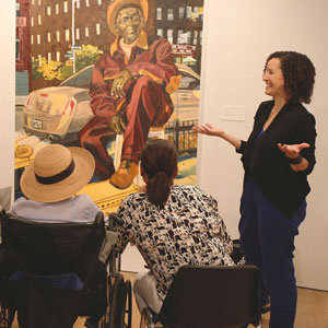 Museum programs: dementia patient apathy and caregiver well-being