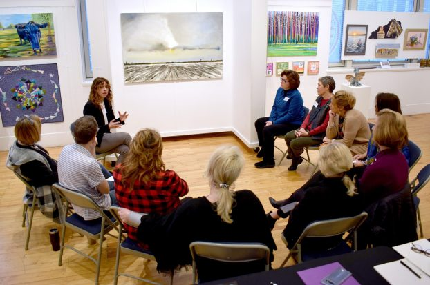 Art Center of the Bluegrass hosts training on art and dementia